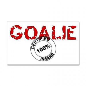 spelled awesome - Hockey Goalie