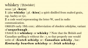 Whiskey is for drinking, water is for fighting