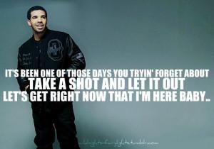 Drake Show Me A Good Time Lyrics