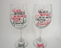 Wine Glass , Wine Gift , Pers onalized Wine Glasses , Funny Sayings ...