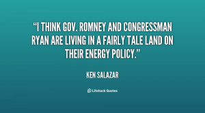 think Gov. Romney and Congressman Ryan are living in a fairly tale ...