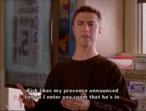 Kirk Gilmore Girls Quotes Human kirk and cat kirk. - gilmore girls ...