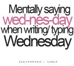 Wednesday quotes & humor