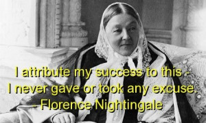 Florence nightingale, quotes, sayings, success, smart