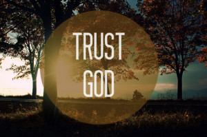 Because they trust in Him.