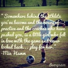... goes way deeper than sports.....it's all about a young girl's life
