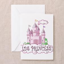LDS Princess Castle Greeting Card for