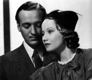 With Merle Oberon