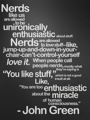 Poster posters DFTBA nerdfighters dftba records nerds like us unironic ...