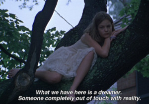 movie ever, daydreaming, dreamer, dreaming, dreams, girl, movie, quote ...