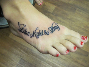 foot browse foot tattoo quotes quotes tattoos on foot tattoo side foot ...