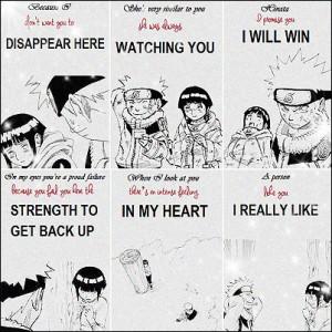 Naruto/Hinata Quotes.