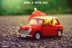 Have a Nice Day -So cute car