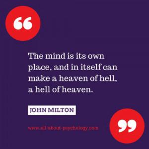 Famous Milton Quote