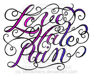 hate tattoo love and hate tattoo designs download tattoo love hate ...