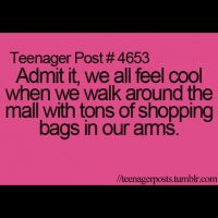 teenagerpost #funny #swag #shopping