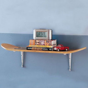 ... sporty and are functional. Absolutely fun way to recycle skateboards