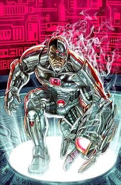 Cover to Secret Origins #5 (August 2014). Art by Lee Bermejo .