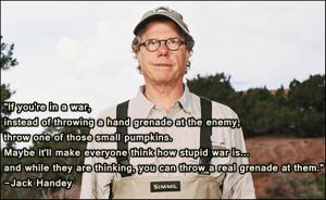 jack handey war