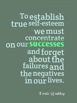 Positive Self Esteem Quotes...