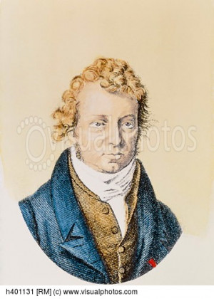 Andre Marie Ampere Quotes Engraving of andre ampere,