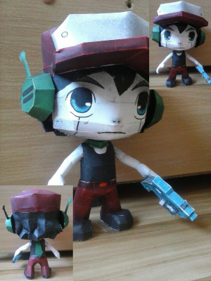 Cave Story - Quote papercraft by SMDgamer27