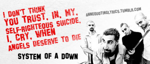 system of a down lyrics