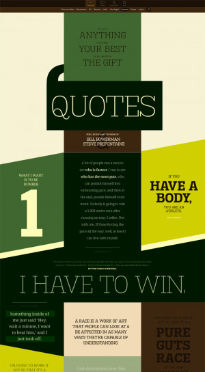 Page: Frequently requested inspirational quotes from Steve Prefontaine ...