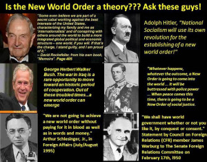 ... Both Take Orders from the Same Masters. The New World Order