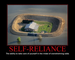 There is nothing like Self-Reliance to show