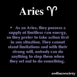Aries Zodiac Facts. funny bc im an aries