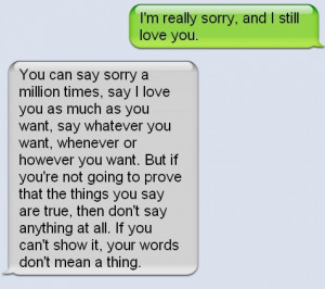 im sorry quotes to your boyfriend