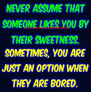 Never Assume... #Quotes ::)