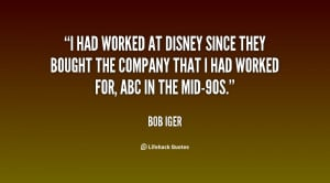 Bob Iger