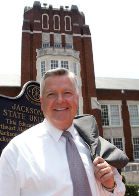 JSU President Dr. William Meehan confirmed that he is a semi-finalist ...