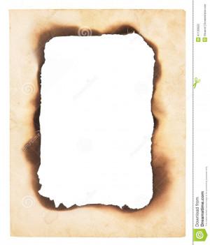 Old Paper Burned Edges Srjames