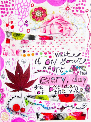 Dabblings: Art Journaling Quote