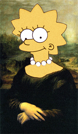 Image Search Mona Lisa Simpson