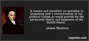... such a reconstruction of our Political System ~ Democracy Quote