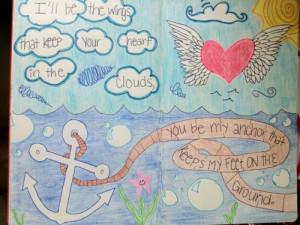 drawing # quote # love # sea # ocean # doodle # bubbles # anchor ...