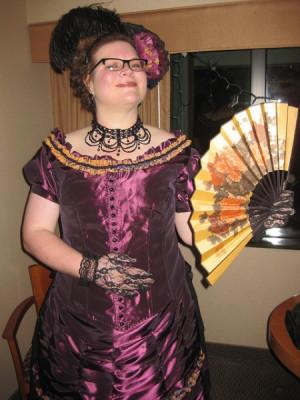 Hobson 39 s purple ballgown 1