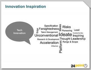Innovation Inspiration for PowerPoint Illustration