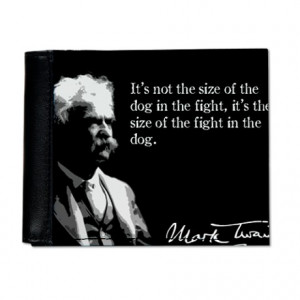 Mark Twain, The Fight in the Dog, Mens