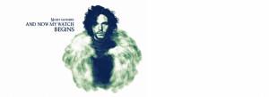 Jon Snow - Night gathers Facebook Cover Photo