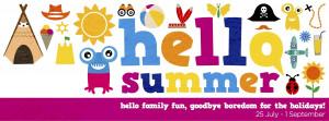 Hello summer Facebook banner