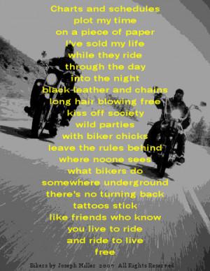 Bikers Poems Sorezthescribe