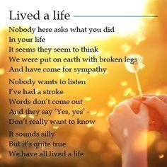 Lived a Life