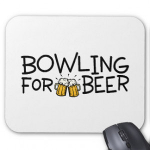 Bowling Quotes Mouse Pads