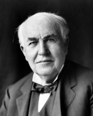 Thomas Edison gave us many wonderful inventions, mainstays of 20th ...