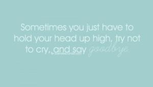 , cry, farewell quotes, hurt, love sucks, pretending i'm okay, quotes ...